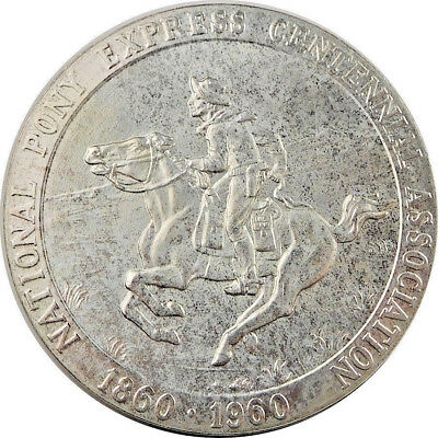 Pony Express Centennial Limited Edition Silver So Called Dollar HK- 582