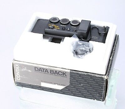 Contax Data Back For Rts Single Lens Reflex Camera
