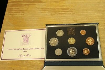1983 United Kingdom Proof Coin Collection