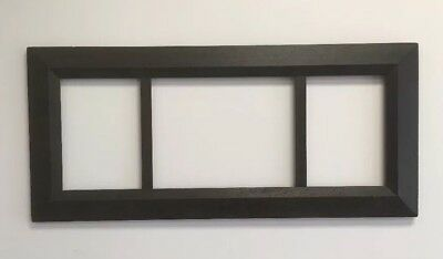 "Antique Arts and Crafts Mission OAK Picture Frame Fits 8""x11"" & 11""x14"" & 8""x11"""