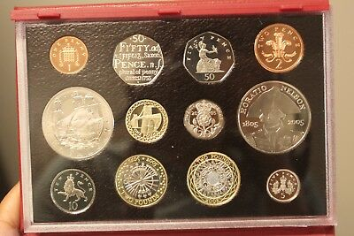 2005 United Kingdom Proof Coin Collection