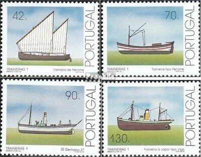 Portugal 1984A-1987A (complete.issue.) unmounted mint / never hinged 1993 Küsten