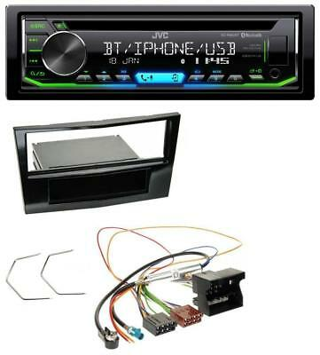jvc mp3 usb cd 2din aux autoradio f r opel astra h corsa d. Black Bedroom Furniture Sets. Home Design Ideas