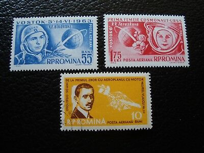 ROMANIA - stamp yvert/tellier air N° 175 176 n MNH 111 cancelled (COL1)
