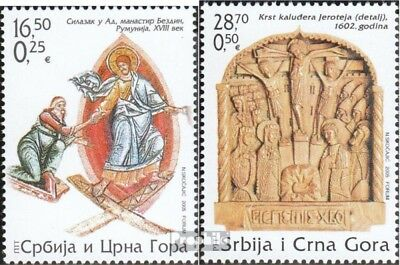 Yugoslavia 3244-3245 (complete.issue.) unmounted mint / never hinged 2005 Easter