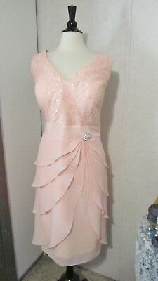 *NWT*Mother Of The Bride Dress by Dress Store-Size 22-Pink Lace
