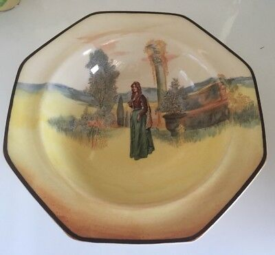 Antique Vintage ROYAL DOULTON Small Bowl - JULIET,  Made in England.  c1916-18