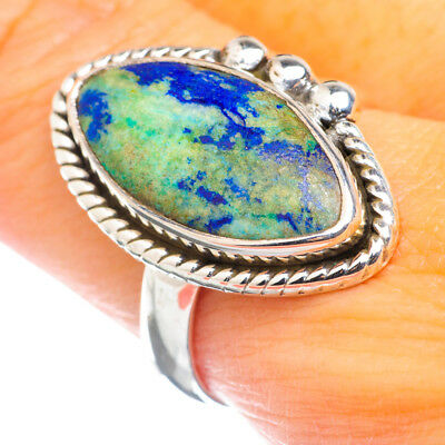 Azurite 925 Sterling Silver Ring Size 9 Ana Co Jewelry R897212