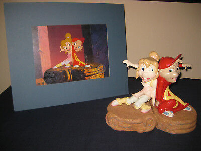 Alvin And The Chipmunks Cel+Alvin+Brittany Maquette+Signed By Ross Bagdasarian