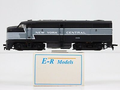 HO Scale E-R Models NYC New York Central FA1 Diesel Locomotive #1004 Powered