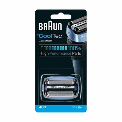 NEW OEM Braun 40B CoolTec Shavers Series Replacement Foil Head Cutter Cartridge