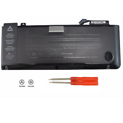 "A1322 Battery For Appl e Macbook Pro 13"" A1278 Mid 2009/2010/2011/2012 MC700 PWR"