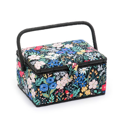 Hobby Gift 'Summertime' Medium Rectangle Sewing Box 18.5 x 26 x 15cm (d/w/h)