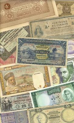 Foreign Currency Banknote Lot 50 +++ Different #3