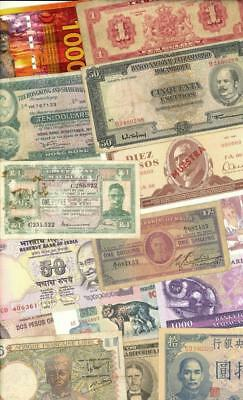 Foreign Currency Banknote Lot 50 +++ Different #4