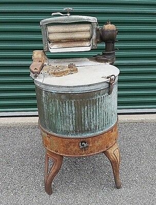 Antique Dexter Ringer Washer Copper Washing Machine