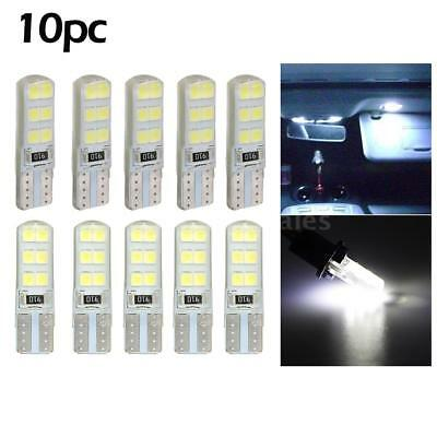 10Pcs T10 2835 LED Canbus Super Bright Car Width Lights Lamps Bulbs White B3G2