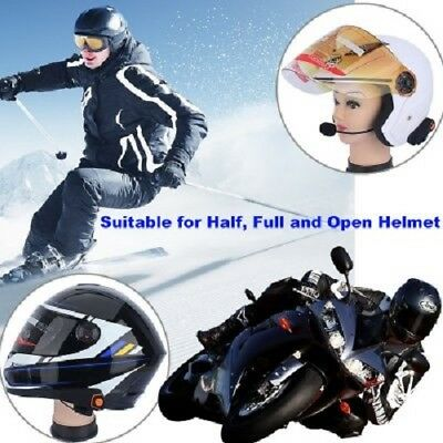 Motorcyle Headset- Bluetooth , Handsfree Call, FM Radio, GPS