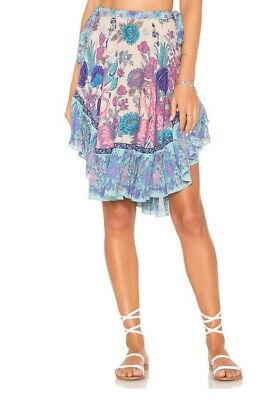 886b784daeab NWT Spell And The Gypsy Collective Siren Song High Low Mermaid Skirt Sz XS