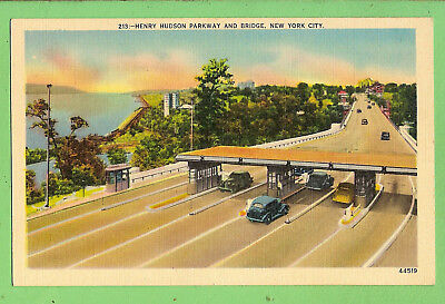 Usa  Postcard -  Henry Hudson Parkway And Bridge, New York City