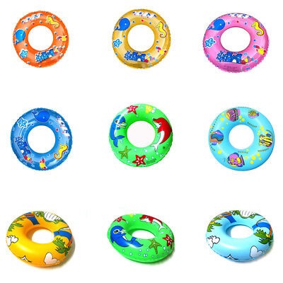 Newborn Baby Swimming Neck Float Ring Bath Inflatable Circle Float Rings SW