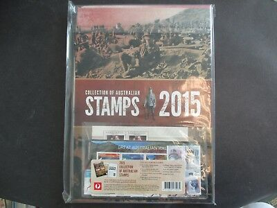 ESTATE: 2015 Delux Collection Stamp Cost $99 - Catalogue: $165  (-)