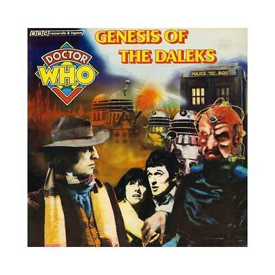Genesis of the Daleks by Terry Nation, Full Cast (read by), Tom Baker (read by)