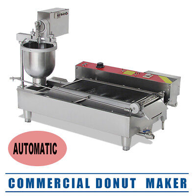 【USA】Commercial Auto Donut Maker Making Machine Free Steel 3 Optional Mold CA