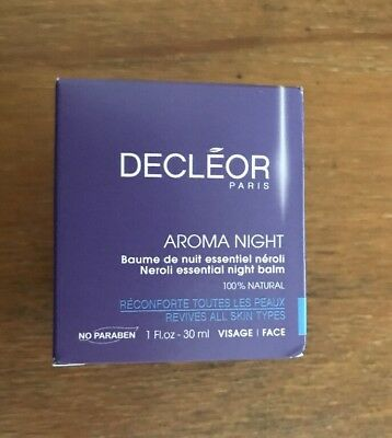 DECLEOR Aroma NEROLI Essential Night Balm 30ml Supersize BNIB💋