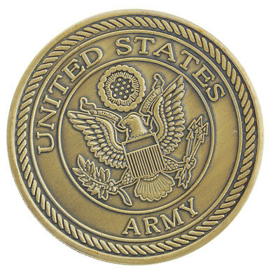 MagiDeal United States Army Fan Commemorative Coin Vintage Souvenirs Gift