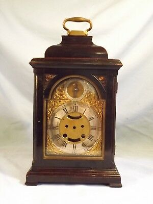 Fabulous 18c Small Ebonized Bracket Clock Case.
