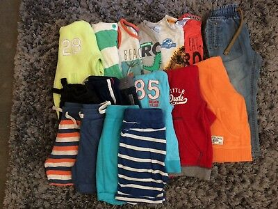 Boys Summer Bundle Age 18-24 months/1.5-2 years from NEXT, Mothercare, F&F BabyK