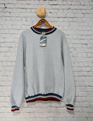 Vintage russell Tweed Fleece sweatshirt  made in the usa   Men's M *DEADSTOCK*