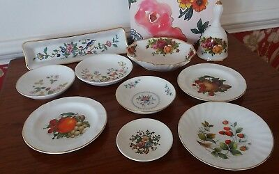 Collection Mixed Job Lot Royal Albert Old Country Roses Worcester Bone China