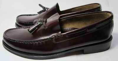 Loake Georgetown Oxblood Loafer 8.5 F - New Slight Seconds RRP £125 (3335)