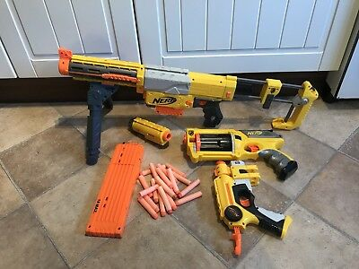 Nerf Bundle - Recon CS 6, Maverick Rev 6 & Single Shot & Bullets