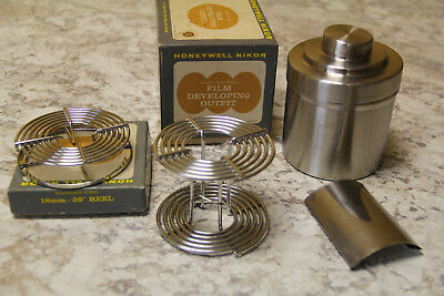 Honeywell Nikor Q15 Tank, 120/620 reel plus 16mm reel