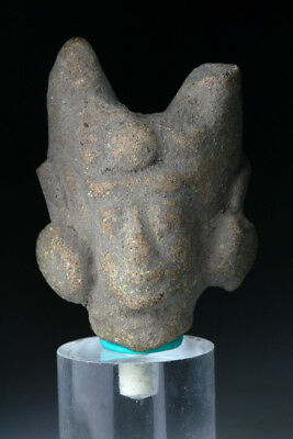 *SC*LARGE POTTERY FIGURE OF FEMALE DEITY, ANCIENT JAVANESE MAJAHAPIT, 11th-13th