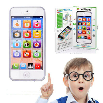 Kids Child Screen Educational Learning Toy Simulator Music Cell Phone Touch