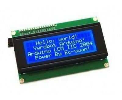 Backlight 2004 20x4 HD44780 Character LCD Display Module LCM for Arduino uno r3