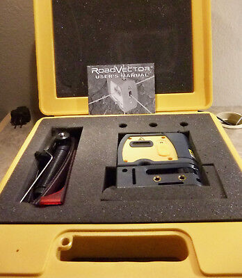 RoboVector 5- Way Laser Level w/ Case, Glasses & Manual