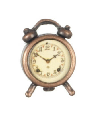 12th scale  Dolls House   ANTIQUE ALARM CLOCK  G7002