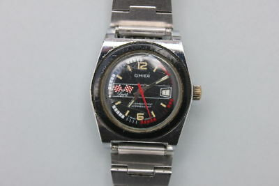 Cimier Sport Swiss Made Herrenarmbanduhr, um 1970
