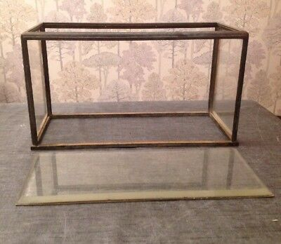 Antique Bronze Clock Or Display Case Parts Maybe For Congreve Style Clock
