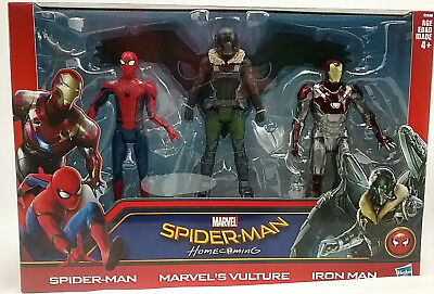 Spiderman Iron Man Vulture 3-Action Figures Marvel Legends Series Homecoming