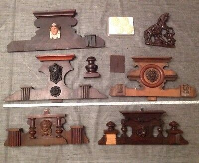 Vienna Clock Case Parts Embellishments Etc Clockmakers Large Job Lot Spare Parts