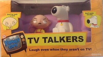 Family Guy Tv Talker Stewie And Brian Sitting On A Couch 2006