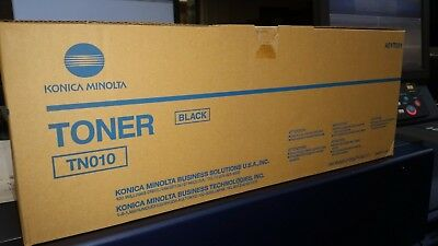 Konica Minolta TN010 (A0YT031 and A0YT030 ) Black Toner - Factory Sealed