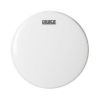 "Peace 14"" Smooth White Single Ply Drumhead"
