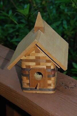 Longaberger Small Birdhouse/ Home Decor